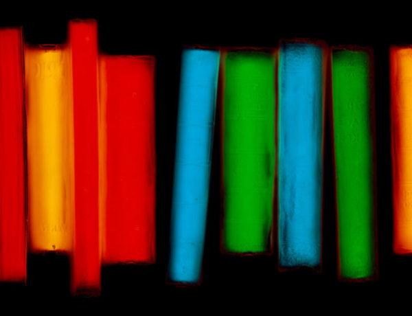 Opter pour une couleur unique des livres