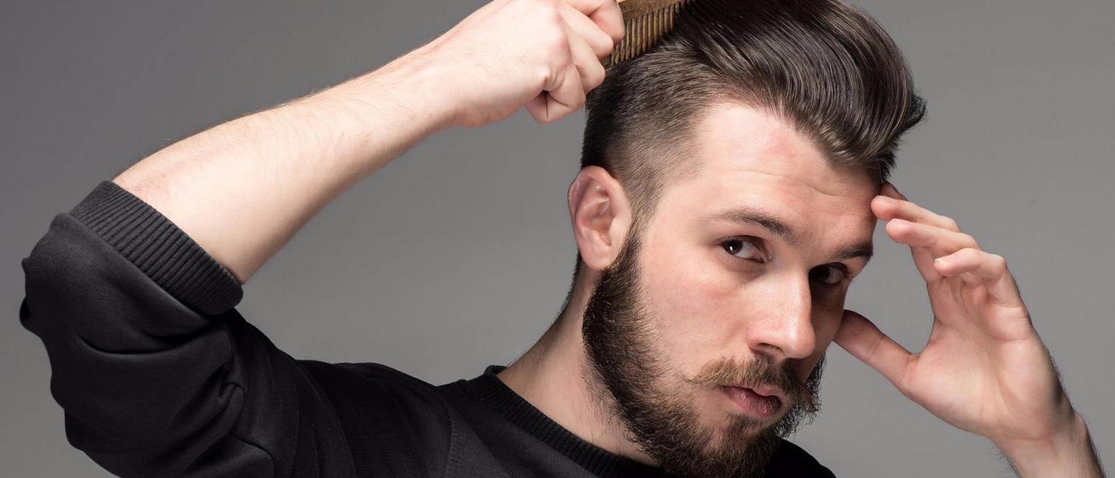 coiffure homme calvitie